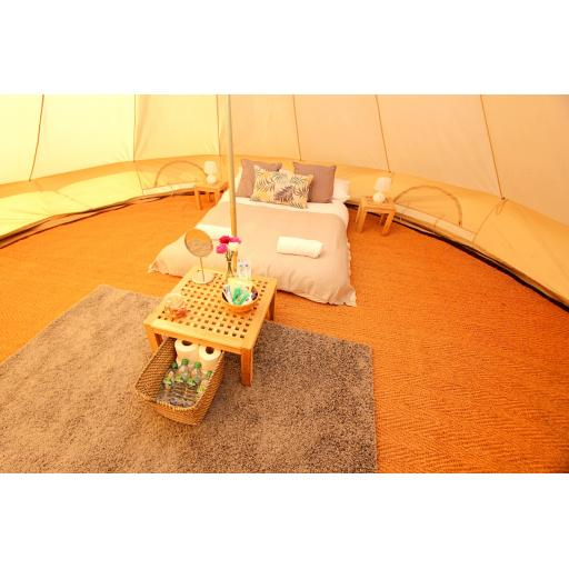 Clara and Oscar - 5m Bell Tent - Deluxe
