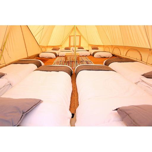 Houghton - 6m Emperor Tent - Furnished