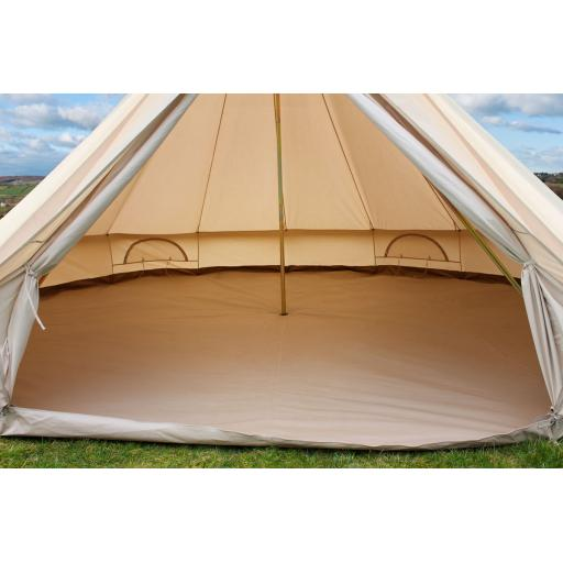 Spaced Out - 5m Bell Tent - Unfurnished