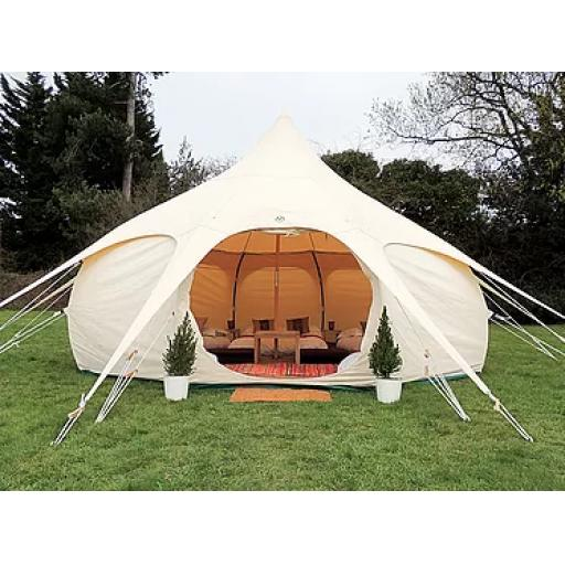 Kingdom - 5m Lotus Belle Tent - Deluxe