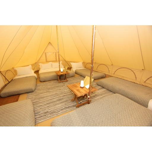 Kingdom - 6m Emperor Tent - Furnished