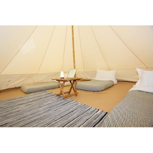 Rob and Bex - Furnished Bell Tent
