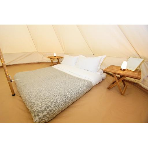 Cherryfields - 5m Bell Tent - Furnished